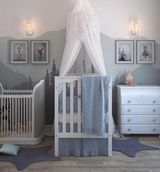Installer la chambre de bébé