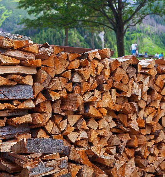 Maison: chauffage au bois