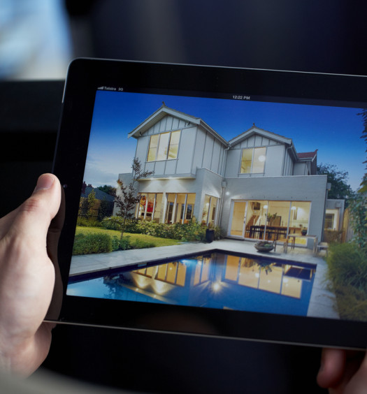 Application immobilier sur tablette