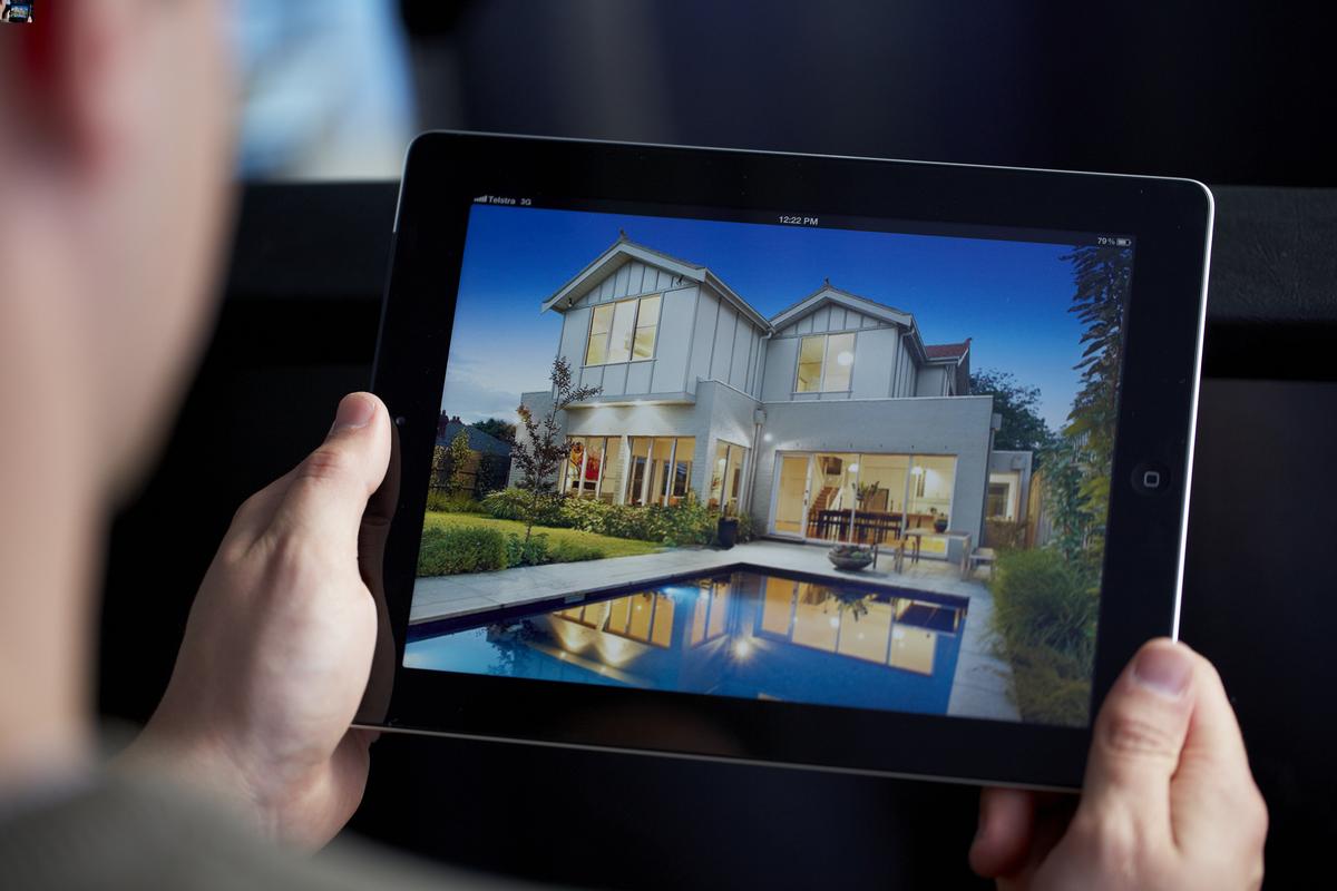Application immobilier sur tablette