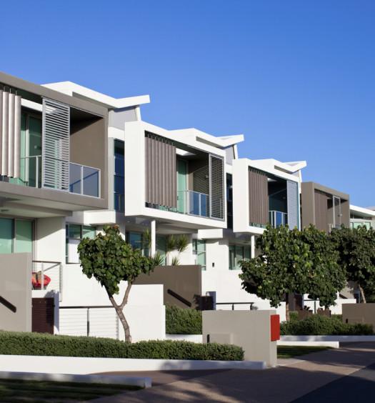 Nouvelle résidence immobilière
