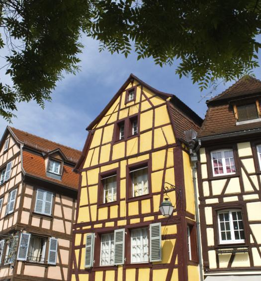 Maison alsacienne à colombage
