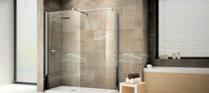 Douche italienne design et pratique for Design douche italienne