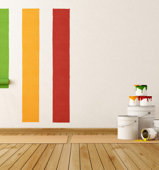 Couleur de peinture murale