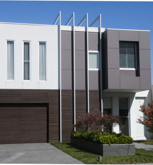 Grande maison de famille moderne