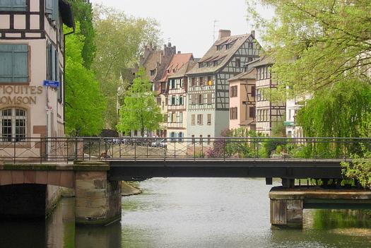 Strasbourg et ses maisons à colombages