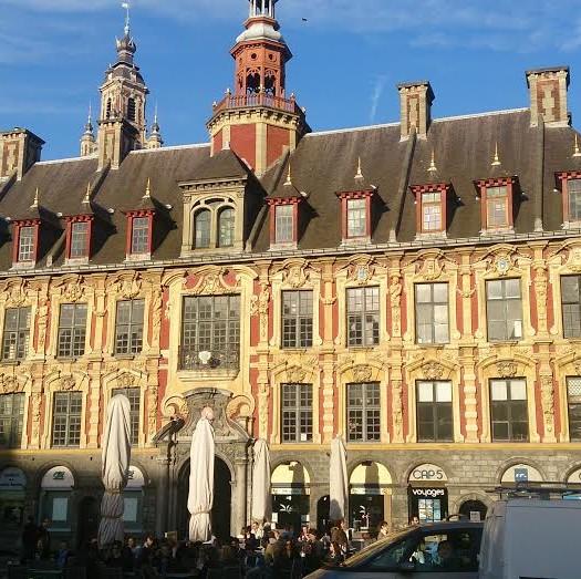 Grand place de Lille dans le Nord