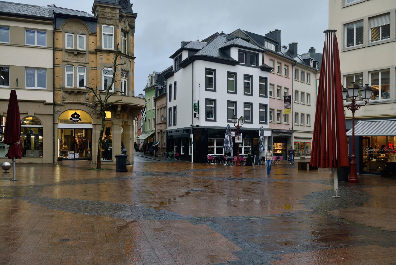 Place principale d'une ville