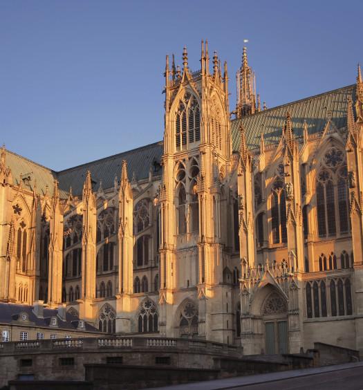 Vue Cathédrale Metz Lorraine