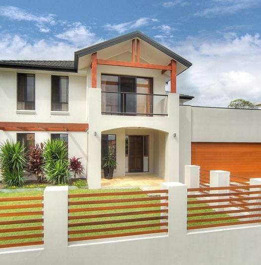 Maison moderne avec étage