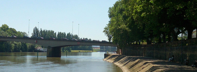 Quai de la Moselle à Thionville