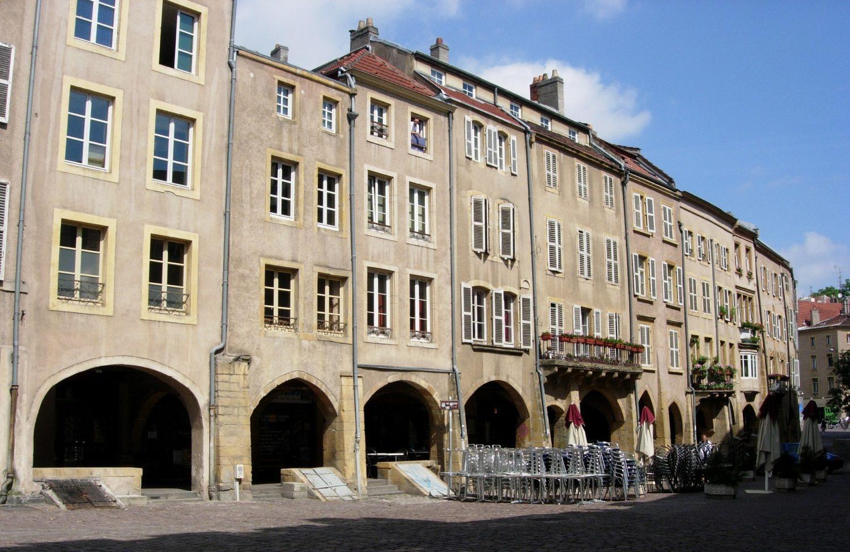 Ville de Metz Place St Louis