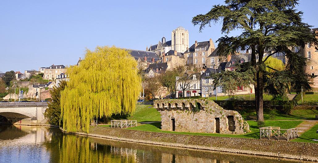 Vue sur Le Mans Pays de la Loire