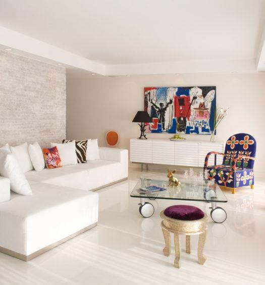 Intérieur d'appartement design