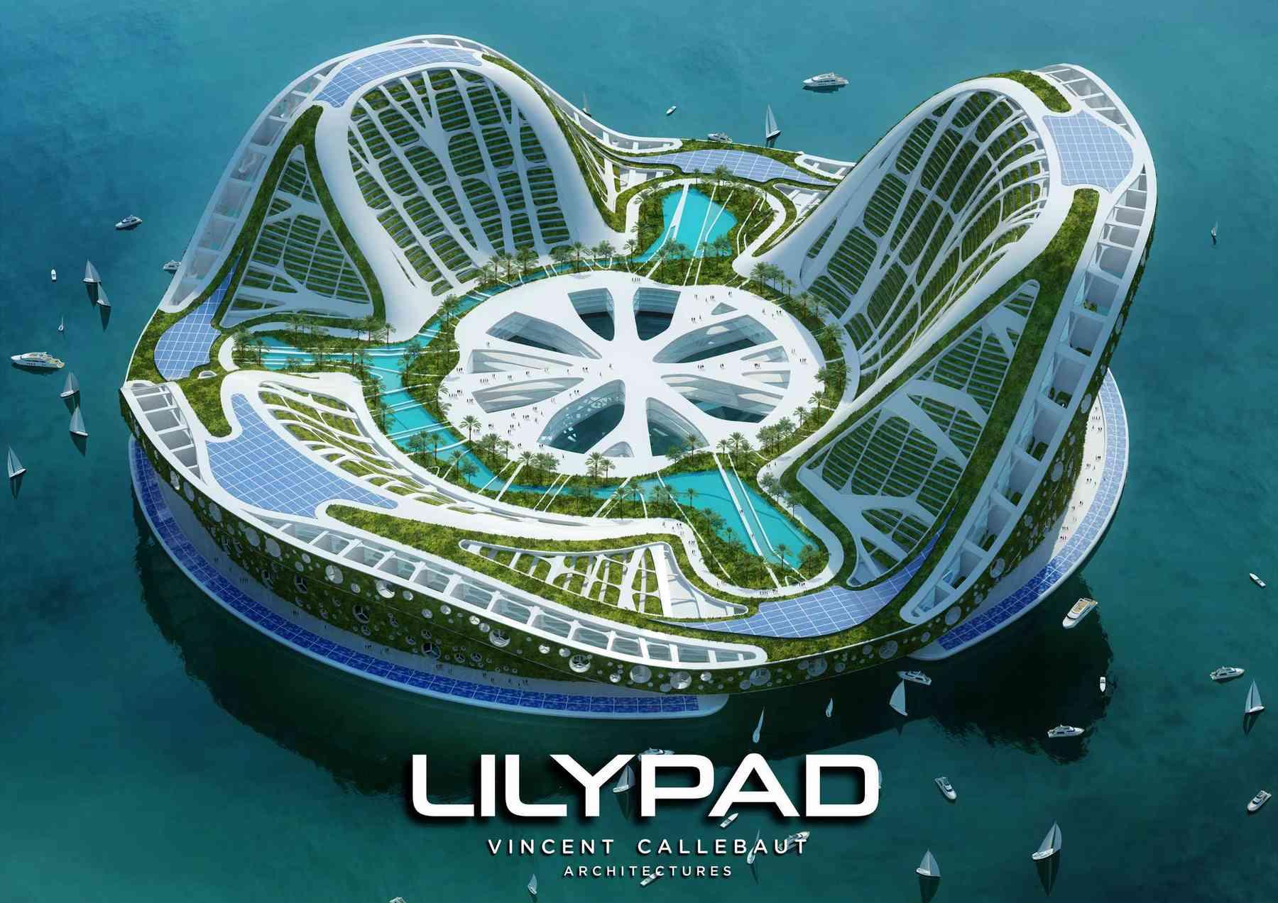 Crédit image: http://vincent.callebaut.org/object/080523_lilypad/lilypad/projects