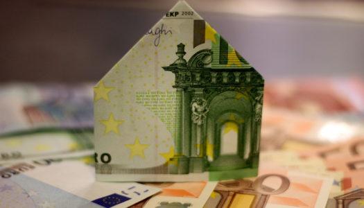 Maison en billet de banque