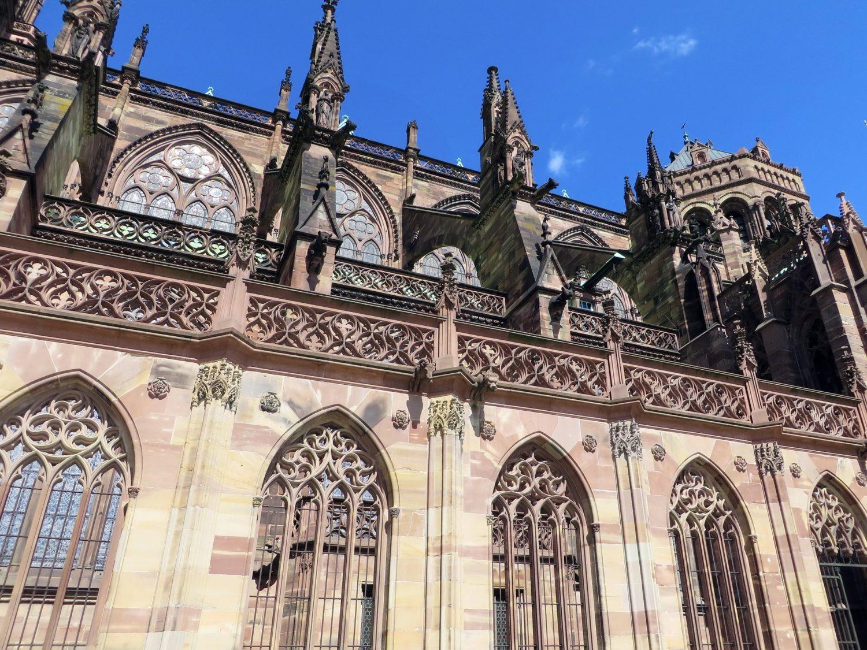 Cathédrale de Strasbourg en Alsace