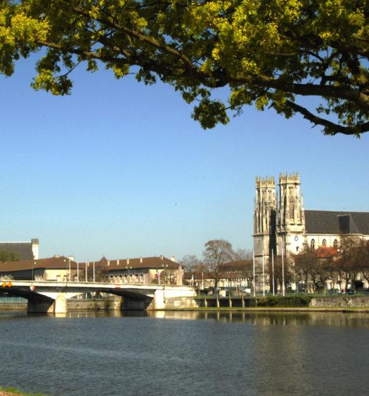 Ville de Pont-à-Mousson Lorraine