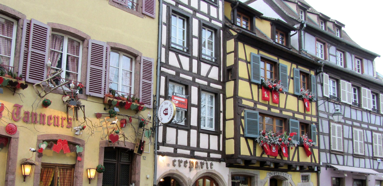 Alsace maisons à colombage