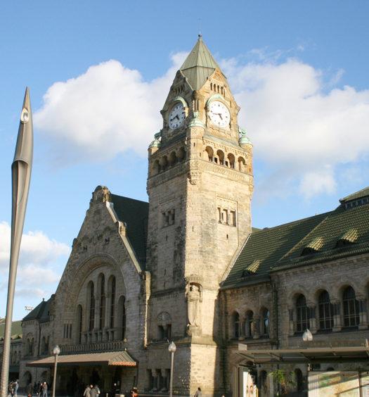 Gare de Metz Lorraine