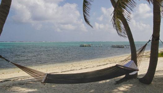 Plage sur île privée