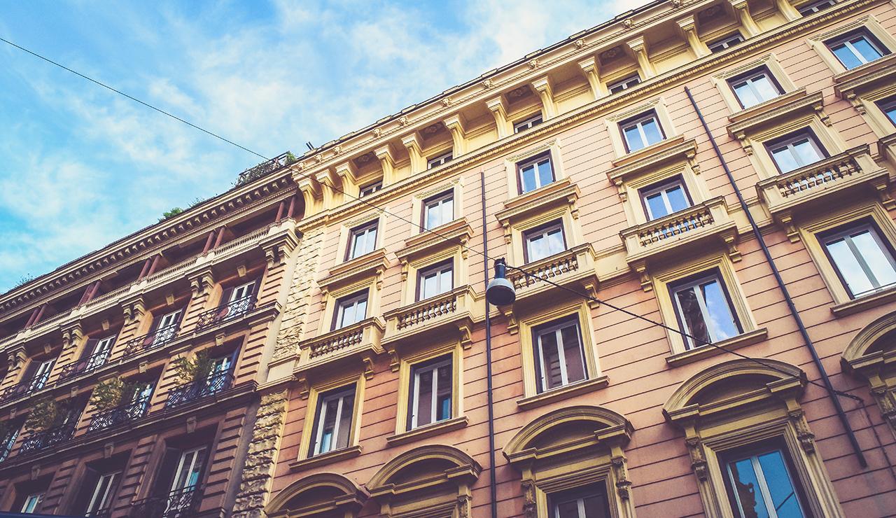 Facade immeuble ancien