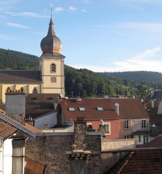 Vue de Remiremont