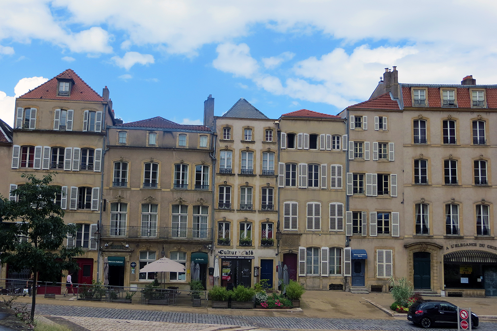 Centre-ville de Metz