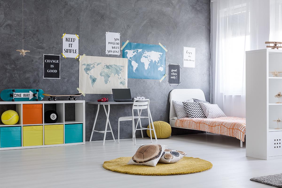 comment d corer une chambre d adolescent immoregion. Black Bedroom Furniture Sets. Home Design Ideas
