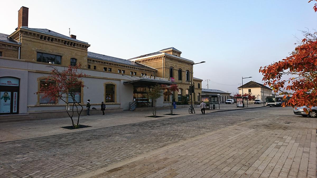 Thionville place de la gare